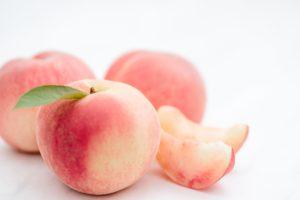 美味しい桃を!